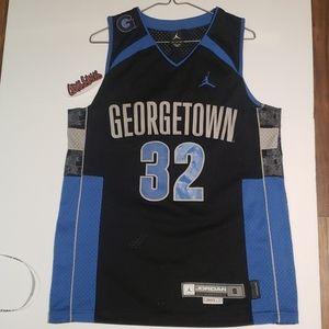Vintage Georgetown Jordan throwback
